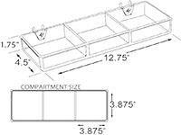 155-F PRODUCT DISPLAY TRAY