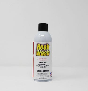 #157-123 HOOK WASH. Embroidery Machine Cleaner and Lubricant.