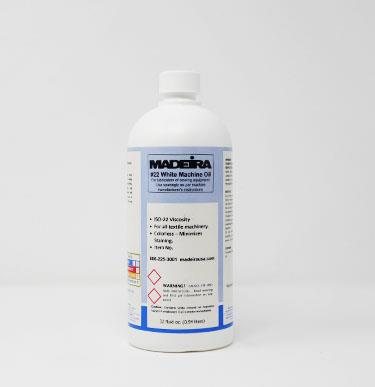 287-32 MADEIRA WHITE MACHINE OIL