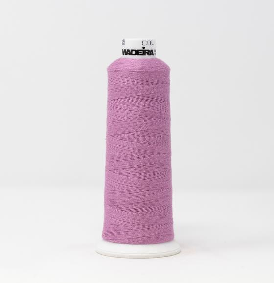 #816-3080 1100 yard cone of #12 weight Purple BurmilanaCo cotton blend embroidery thread