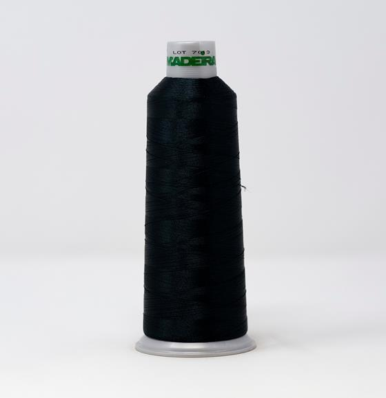 #918-1996 5,500 yard cone of #40 weight Deep Emerald polyester machine embroidery thread.
