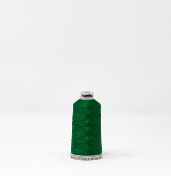 #922-N1851 1,000 yard spool of #40 weight Fire Fighter embroidery thread in Dark Green.