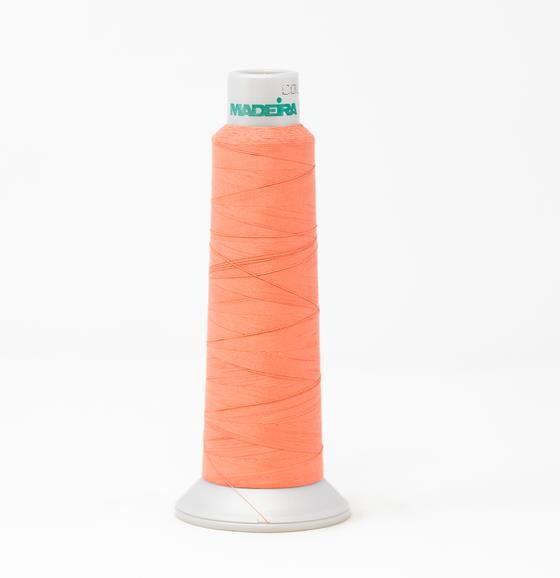 #940-7616 2,700 yard cone Frosted Matt #40 machine embroidery thread in pink.