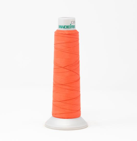 #940-7779 2,700 yard cone Frosted Matt #40 machine embroidery thread in pink.
