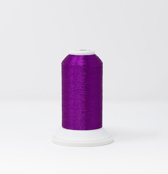 CR Metallic #40 Embroidery Thread Amethyst