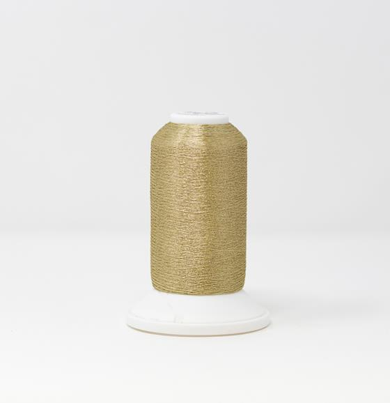 CR Metallic #40 Embroidery Thread White Gold