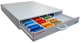 #911-387E 44 Color Classic Rayon #40 Thread Drawer
