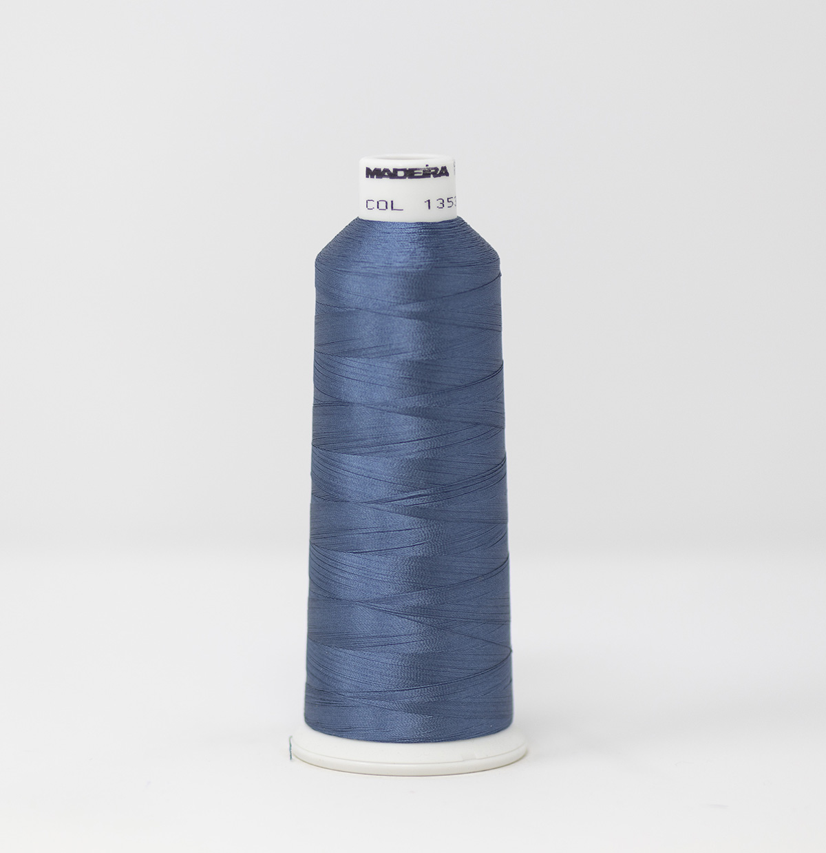 1353 Madeira Rayon Embroidery Thread 1100yd Spool BLUE GRAY Color