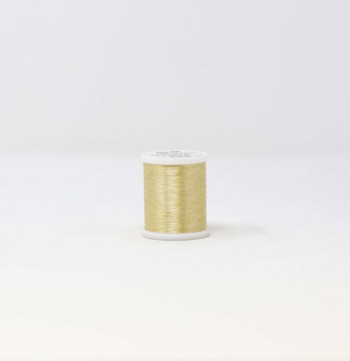 25 Gold Madeira Metallic Supertwist 200m